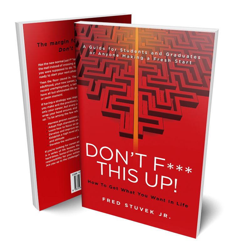 Don't F*** This Up! book covers
