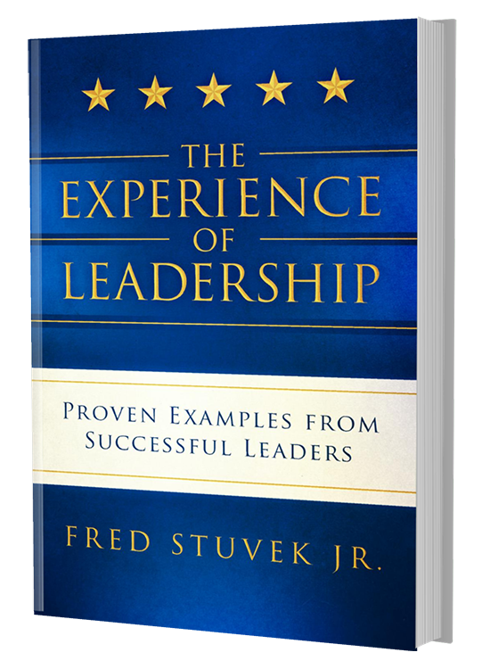 The Experience of Leadership front book cover